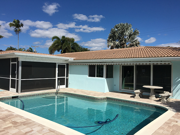 Delray Beach Screen and Gutter Installation